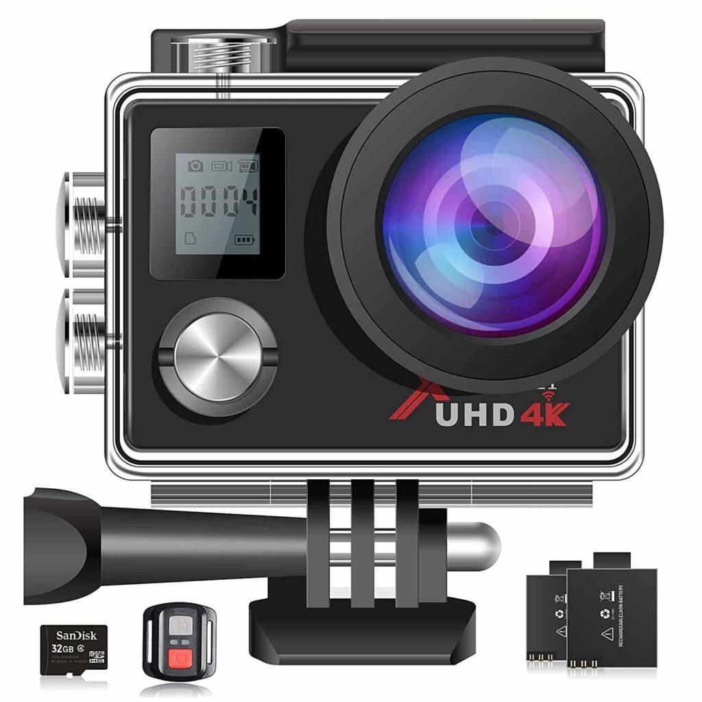 Campark Action Cam, 4K Sport Camera