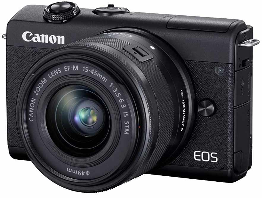 Canon EOS M200 Best DSLR Cameras under 40000 in India