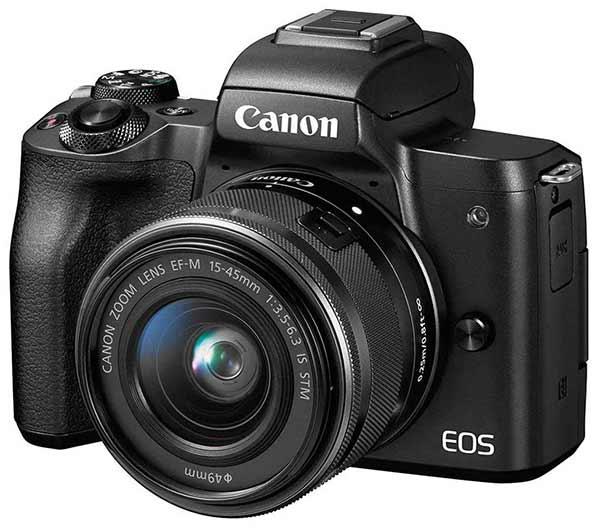 canon eos Best Mirrorless Cameras Under 50000 in India