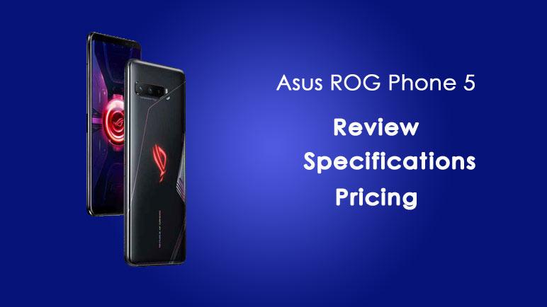 Asus ROG phone 5 india