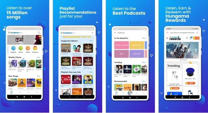 hungama music app alternative